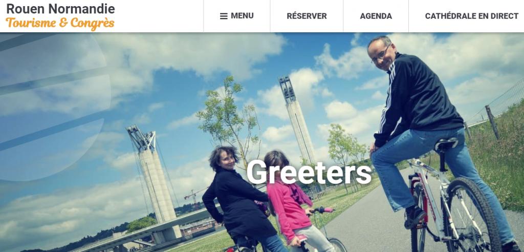 Greeters Rouen