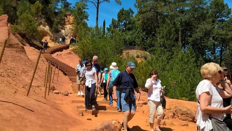 Visite Guidée Roussillon, Guide Roussillon